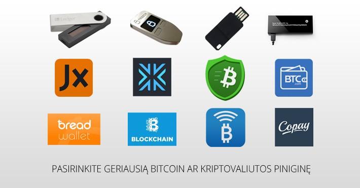 Bitcoin piniginės atsiėmimas