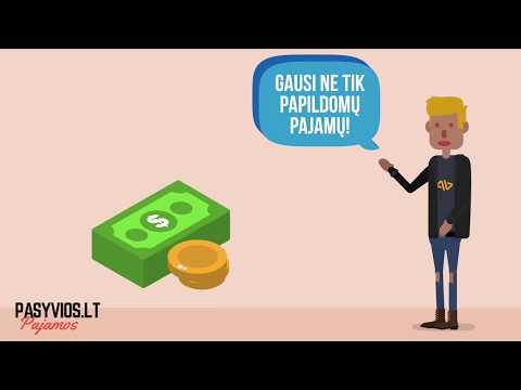 papildomų pajamų šaltinis
