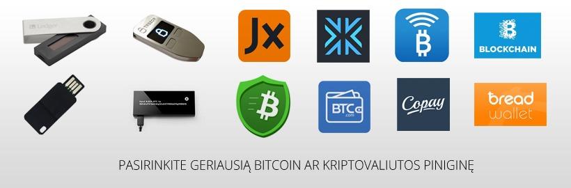 atpažintas bitkoinas