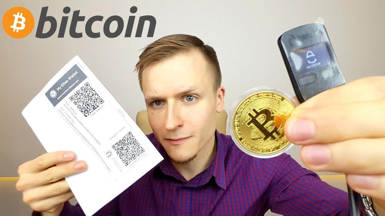 rinkis bitkoino piniginę