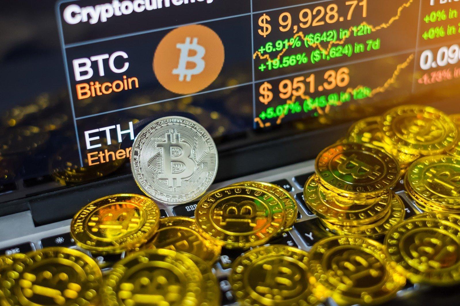 kiek dolerių šiandien bitkoinais