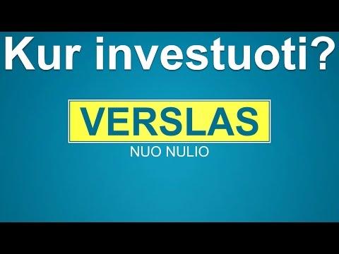 verslą internete nuo nulio be investicijų geriausiai patikrintos interneto svetainės, kuriose galima užsidirbti pinigų